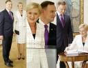Andrzej Duda z żoną Agatą otwierają wystawę w Muzeum Narodowym (ZDJĘCIA)