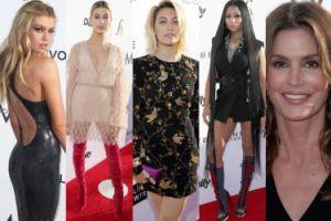 Nicki Minaj z włosami do kolan, Cindy Crawford i Paris Jackson na gali Fashion Los Angeles Awards (ZDJĘCIA)