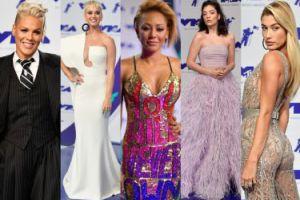 Gwiazdy na imprezie MTV: Katy Perry, Pink, Lorde, Hailey Baldwin, Mel B... (ZDJĘCIA)