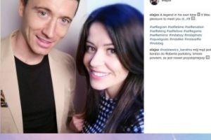 Fashionelka chwali się fotką z Lewandowskim i komplementuje męża