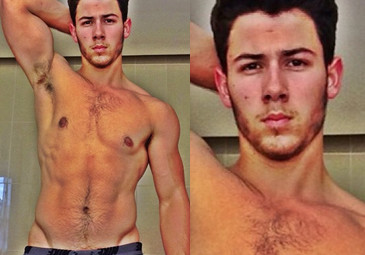 Nick Jonas BEZ KOSZULKI! SEKSOWNY?