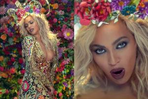 Wybielona blond Beyonce w nowym teledysku!