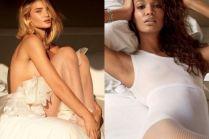 Anja Rubik, Candice Swanepoel i Kate Upton topless w seksownej sesji!