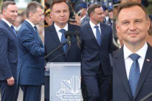 Andrzej Duda bawi się na Święcie Policji (ZDJĘCIA)