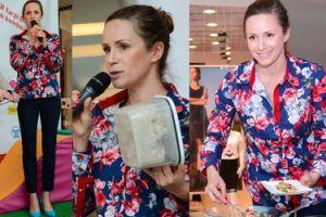 Mrozowska promuje zdrowy tryb życia w centrum handlowym (ZDJĘCIA)