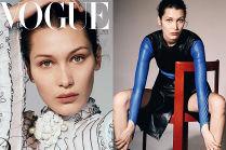 """Przejęta Bella Hadid pozuje dla chińskiego """"Vogue'a"""""""