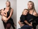 Amerykańska fotograf KARMI PIERSIĄ... 3,5-letniego syna! Zdjęcia pokazuje na Facebooku