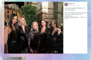 Maffashion pozuje ze słynnymi modelkami