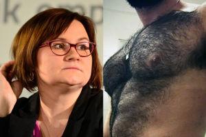 """Terlikowska: """"Zmuszani jesteśmy oglądać NAGIE TORSY, owłosione brzuchy..."""""""