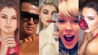 Instagram opublikował ranking 10 najpopularniejszych gwiazd 2016 roku (ZDJĘCIA)