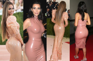 """Lateksowa"" Beyonce inspirowała się Kim Kardashian?"