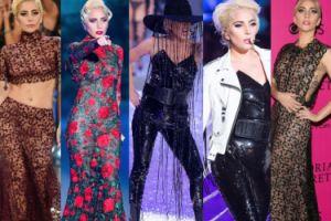 Wszystkie stroje Lady Gagi z pokazu Victoria's Secret (ZDJĘCIA)