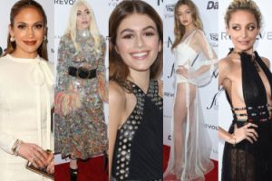 "Gala ""Fashion Los Angeles Awards"": Lady Gaga, Jennifer Lopez, Gigi Hadid... (ZDJĘCIA)"