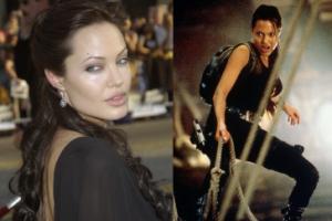 """Jolie CODZIENNIE badano na obecność heroiny, zanim dostała rolę Lary Croft! """"Miała mroczną reputację"""""""