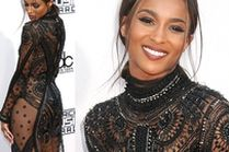 "Ciara w ""NAKED DRESS"" na gali AMA!"