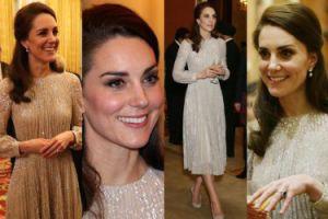 Błyszcząca księżna Kate w sukience za 12 tysięcy (ZDJĘCIA)