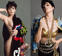 NAGA Katy Perry w kampanii Moschino!