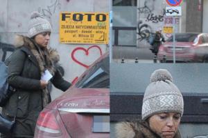 Anna Mucha parkuje na zakazie. Nie zauważyła znaku? (ZDJĘCIA)