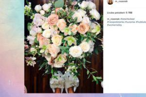 Małgorzata Rozenek pokazała kwiaty od Radzia