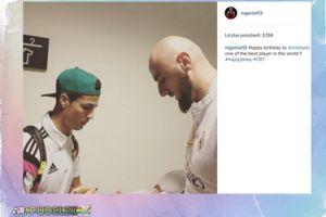 Gortat składa życzenia Cristiano Ronaldo