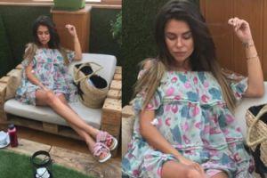 """Natalia Siwiec """"chilluje"""" z ciążowym brzuszkiem (FOTO)"""