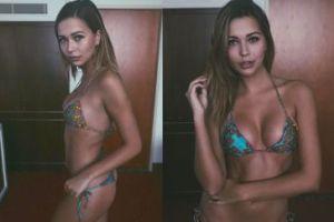 Sandra Kubicka pozuje w bikini (FOTO)
