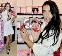 Adriana Lima promuje swoje nowe perfumy