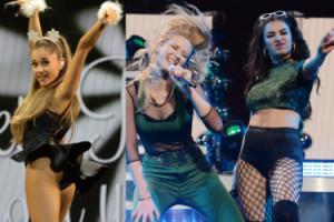 """""""ŚWIĄTECZNE SHOW"""": Iggy Azalea i pośladki Ariany Grande... (ZDJĘCIA)"""