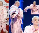 Margaret W RÓŻOWEJ PIERZYNIE na festiwalu w Sopocie (ZDJĘCIA)