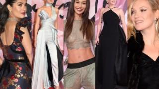 British Fashion Awards 2016: Lady Gaga, Gigi Hadid, Salma Hayek, Kate Moss... (DUŻO ZDJĘĆ)