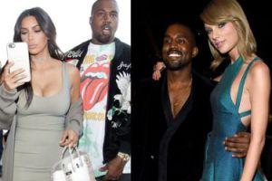"""Taylor Swift pozwie Kardashian i Westa? Kim twierdzi, że zgodziła się na nazwanie jej """"dziw*ą""""..."""