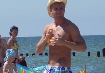 Ozdoba na plaży w Mielnie (ZDJĘCIA)