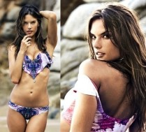 Alessandra Ambrosio reklamuje własną linię kostiumów kąpielowych