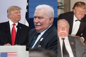 """Trump w Warszawie: """"Jesteśmy bardzo zadowoleni, że Lech Wałęsa dołączył do nas"""""""