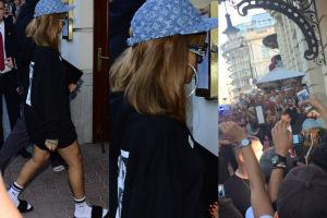 Tłumy fanów przywitały Rihannę w Warszawie (ZDJĘCIA)