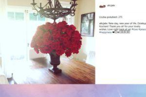 Alicja Bachleda-Curuś pokazała urodzinowy bukiet (FOTO