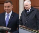"""Kaczyński odwiedził Dudę w Belwederze. """"Chce, by znów stał się Adrianem"""" (FOTO)"""