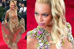 Półnaga Beyonce na Gali Met...