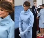 Elegancka Melania na zaprzysiężeniu Donalda Trumpa (ZDJĘCIA)