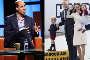 """Książę William narzeka: """"Rodzicielstwo jest bardzo męczące. Zmagałem się z rolą ojca"""""""