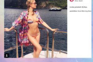Paris Hilton na Ibizie