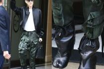 Celine Dion w bojówkach i dziwnych butach za 5 tysięcy