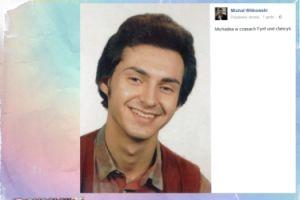 Michał Witkowski pokazał stare zdjęcie