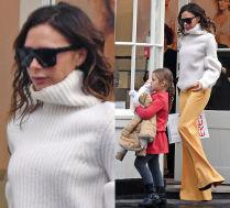 Victoria Beckham na zakupach z 5-letnią Harper