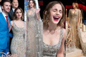 """Emma Watson w """"kryształowej"""" sukni na chińskiej premierze """"Pięknej i bestii"""" (ZDJĘCIA)"""