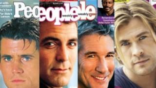 """Najseksowniejsi mężczyźni świata magazynu """"People"""": OD 1985 ROKU DO DZIŚ!"""