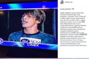 """Stanek wspomina swój udział w """"Idolu"""": """"Wspaniała przygoda"""""""