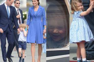 Kate, William, Jerzy i Charlotte wylatują do Berlina (ZDJĘCIA)