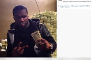 """50 Cent pokazał """"oszczędności"""""""