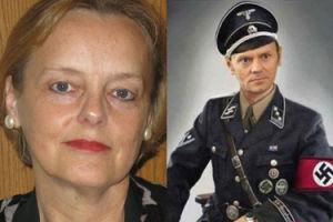 Nowa polska konsul honorowa udostępniła zdjęcie Tuska w... MUNDURZE SS!